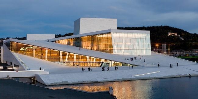מזרח נורבגיה - בית האופרה של אוסלו