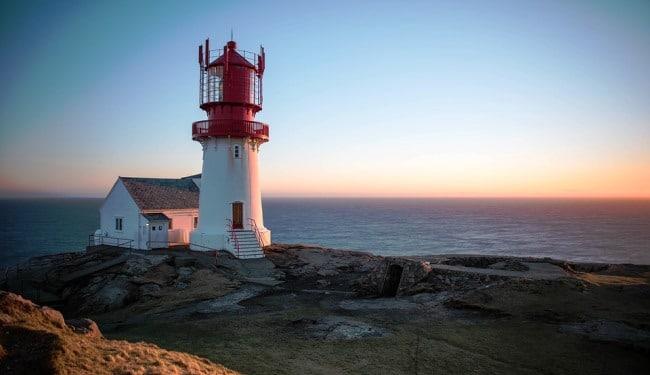 דרום נורבגיה – מגדלור Lindesnes