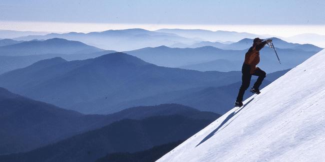 טיפוס הרים בנורבגיה