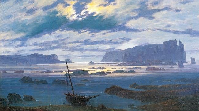 ציור של הים הצפוני