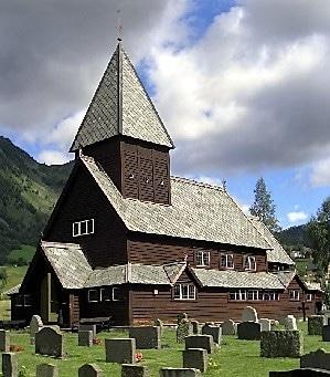 Røldal כנסיית הלוחות