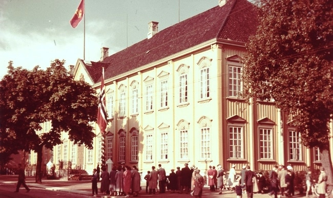 ארמון Stiftsgården בשנות השישים