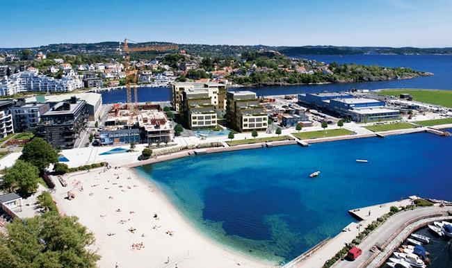 חוף Bystrand - קריסטיאנסנד