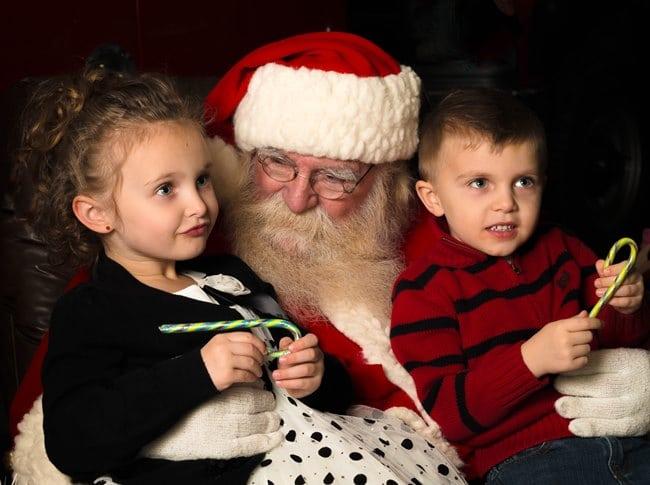 סנטה קלאוס בכריסטמס