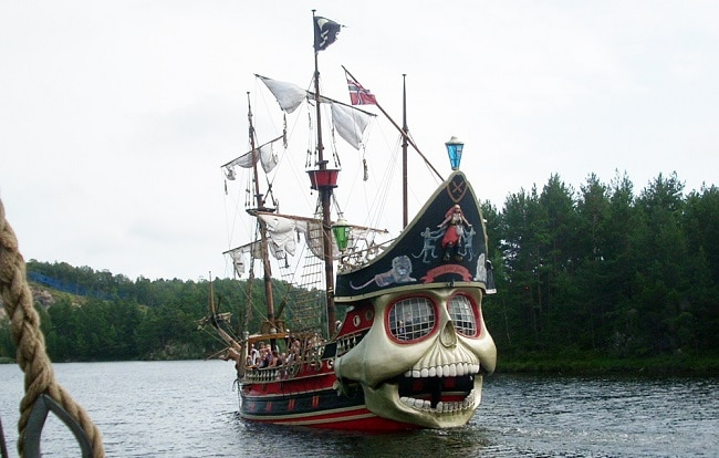 ספינת פיראטים בפארק - קריסטיאנסנד