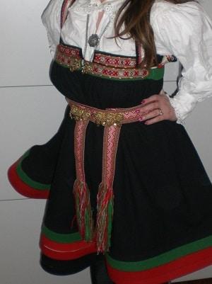 Setesdalsbunad - תלבושת נורווגית מסטסדאל