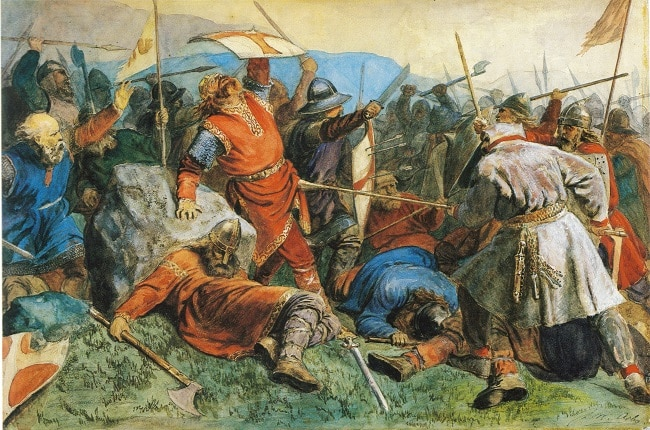 קרב Stiklestad שנערך באיזור אינהארד