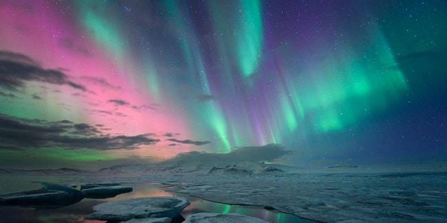 אורות הצפון באיזור אלטה