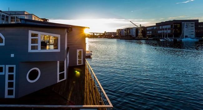 המלון הצף בברגן Floating House Bergen