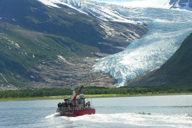 הקרחון Svartisen