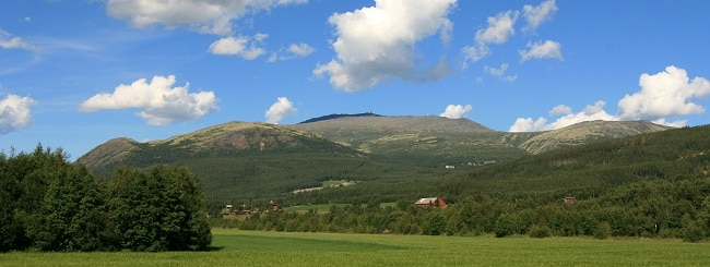 הר Tronfjell - סאבאלן