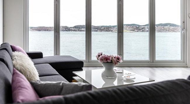 חדר במלון Floating House Bergen