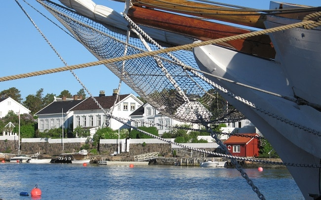האי לינגר - Lyngør