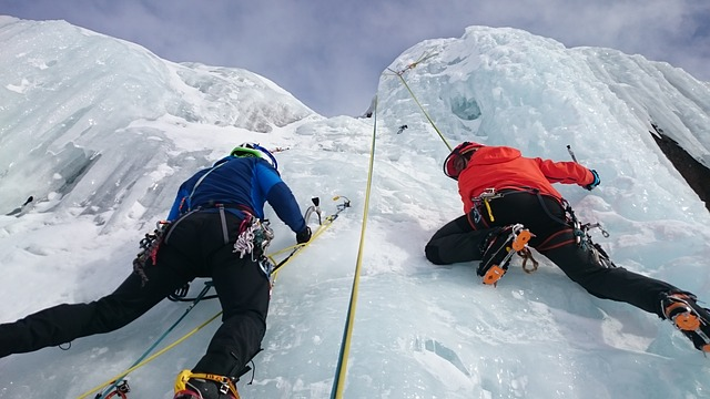 טיפוס על הקרח