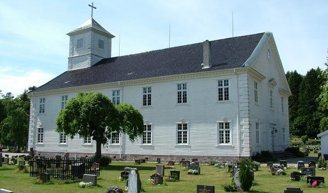 כנסיית מנדאל - כנסיית העץ הגדולה בנורבגיה