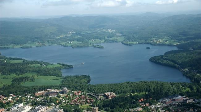 אגם Reddalsvannet