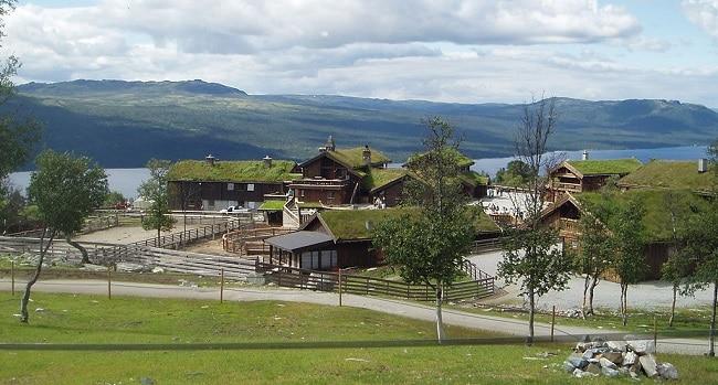 פארק Langedrag בעמק נומדאל