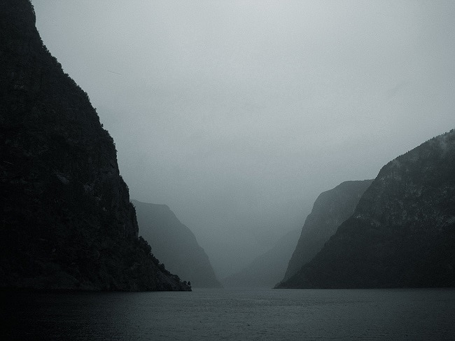 פיורד ארלנדס - Aurlandsfjord