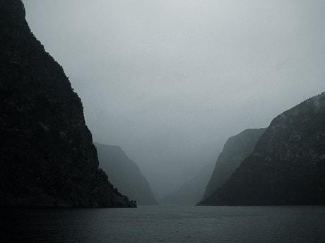 פיורד ארלנדס - Aurlandsfjord - עותק