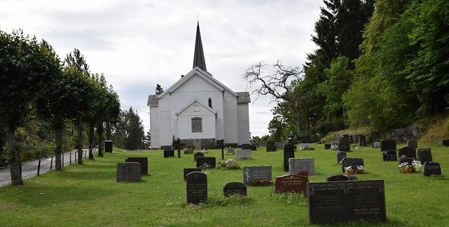 הכנסיה באי Skåtøy