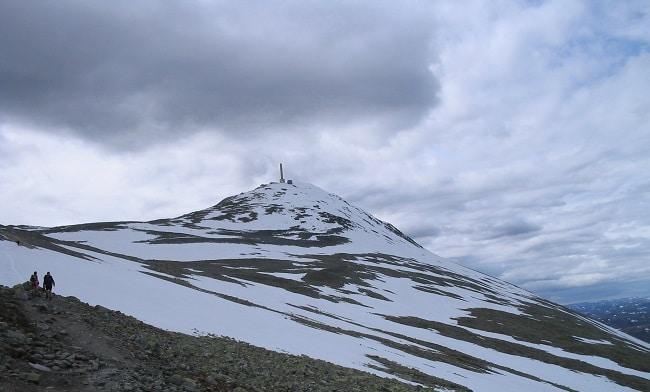 הר Gaustatoppen