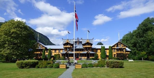 מלון טיפוסי - טלמרק
