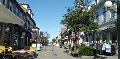 המדרחוב של סרפסבורג - Sarpsborg