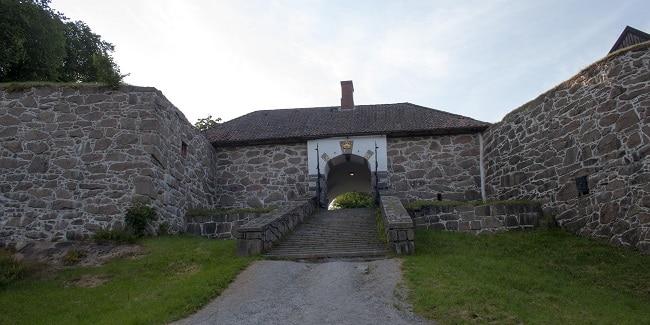 הכניסה הראשית למבצר Kongsten