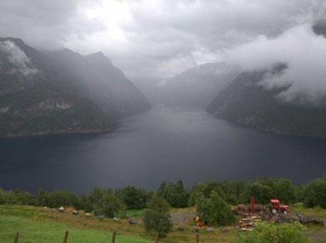 פיורד גרונגר (Geiranger fjord)