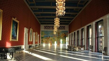 בית העירייה של אוסלו - עותק
