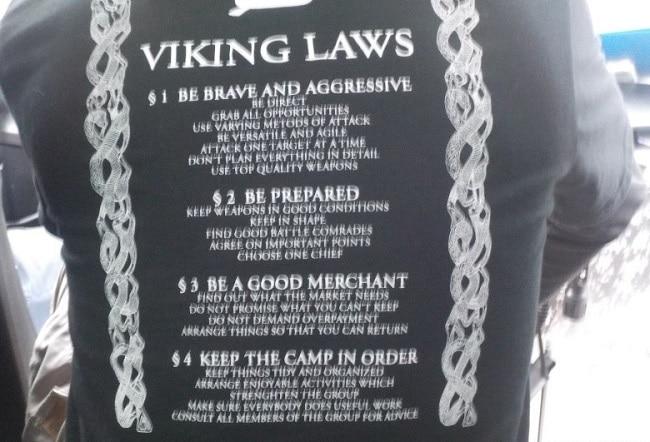 החוקים של הויקינגים