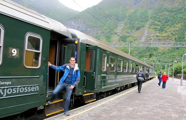רכבת בנורבגיה