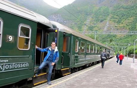 רכבת בנורבגיה - עותק