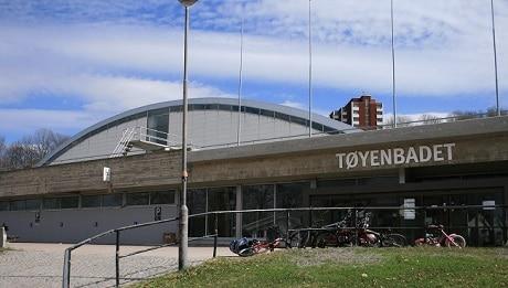 הבריכה הציבורית Tøyenbadet