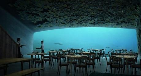 Under - המסעדה התת ימית הראשונה באירופה