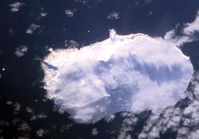 האי בּוּבֶה במבט מלמעלה