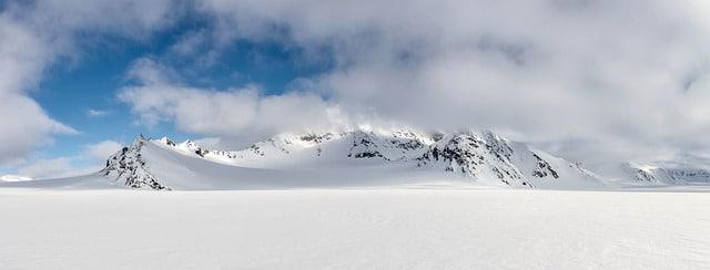 שלג בשפיצברגן