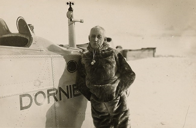 רואלד אמונדסן בסבאלברד - 1925