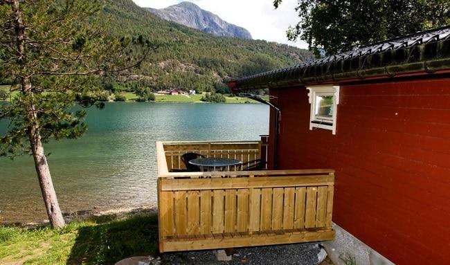 צימר במלון Mindresunde Camping