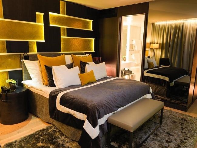 חדר שגרתי במלון הגנב באוסלו - The thief
