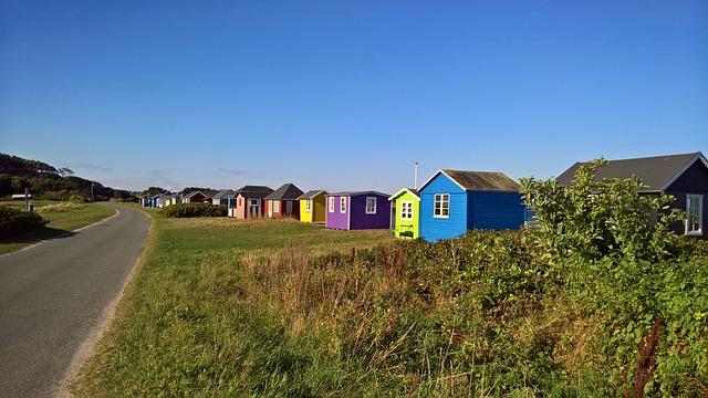 בתי חוף באי Ærø
