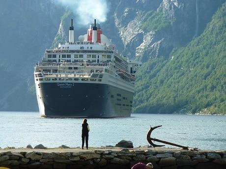 ספינת קווין מרי - שיט פיורדים בנורבגיה