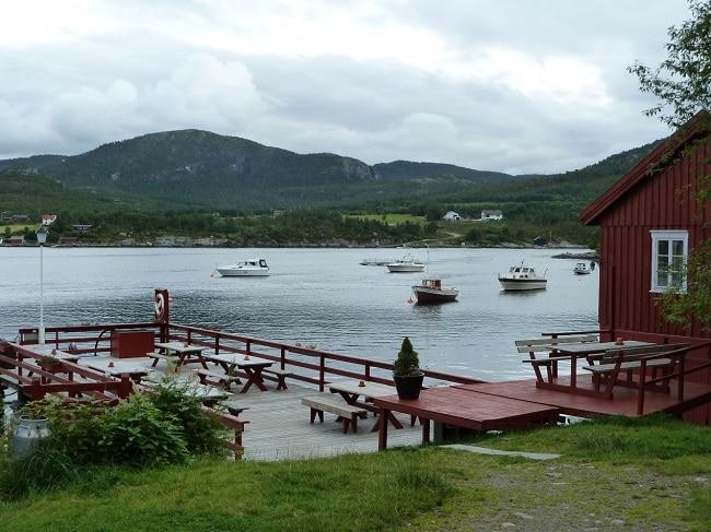 נוף טיפוסי באי Magerøya