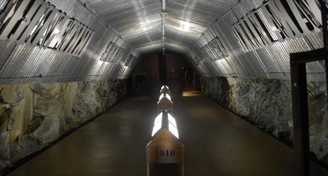 תערוכת זכרון במבצר