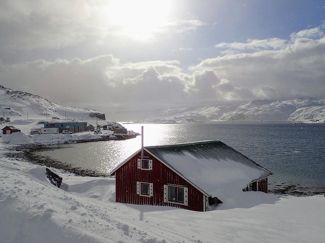 מחוז פינמרק בחורף