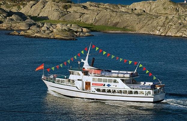 hop on hop off ספינת תיירים באוסלו