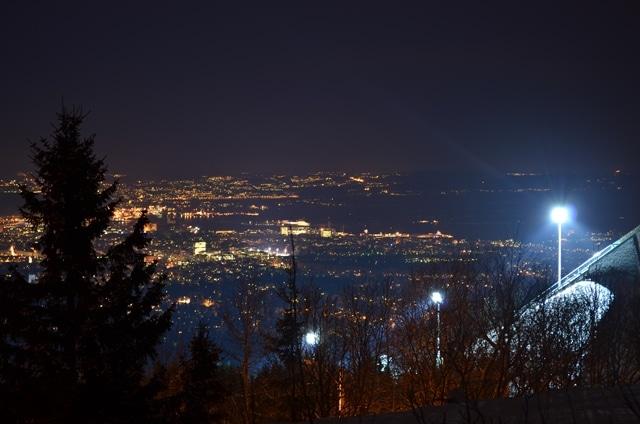אוסלו בלילה