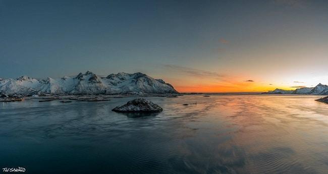 מים והרים - איי לופטן בנורבגיה