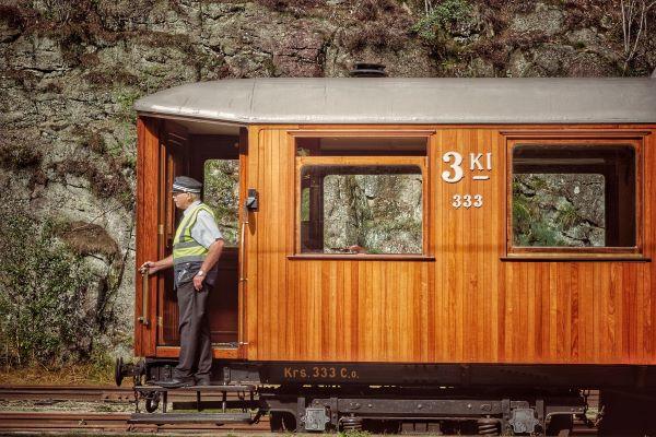 רכבת נורבגית עתיקה